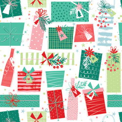 Colourful Presents Christmas Wrapping Paper
