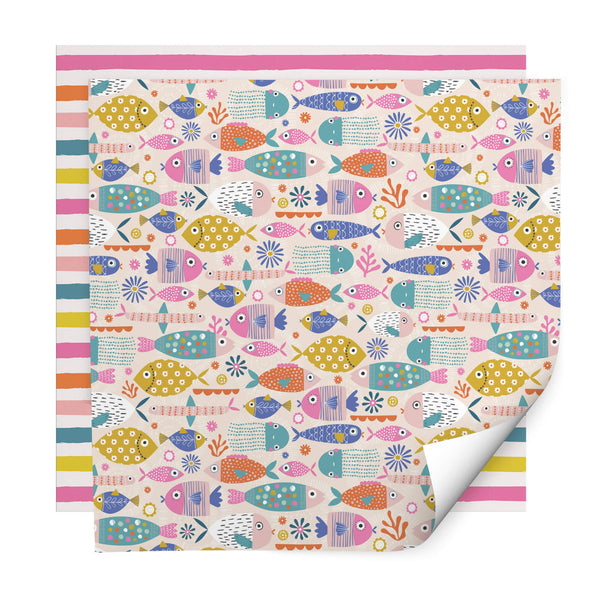 Rainbow Fish Wrapping Paper Pack