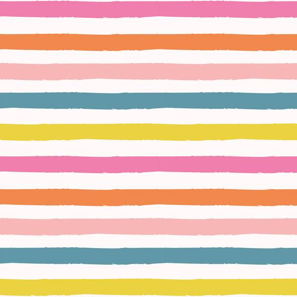 Rainbow Waves Wrapping Paper Pack