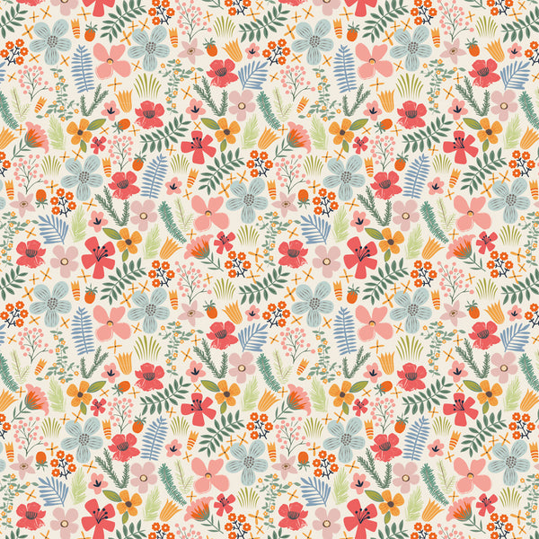 Ditsy Floral Wrapping Paper Pack