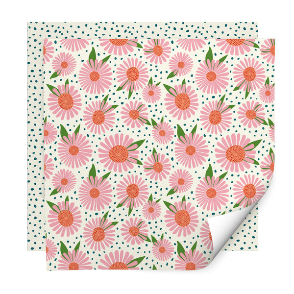 Daisy Dreams Wrapping Paper Pack