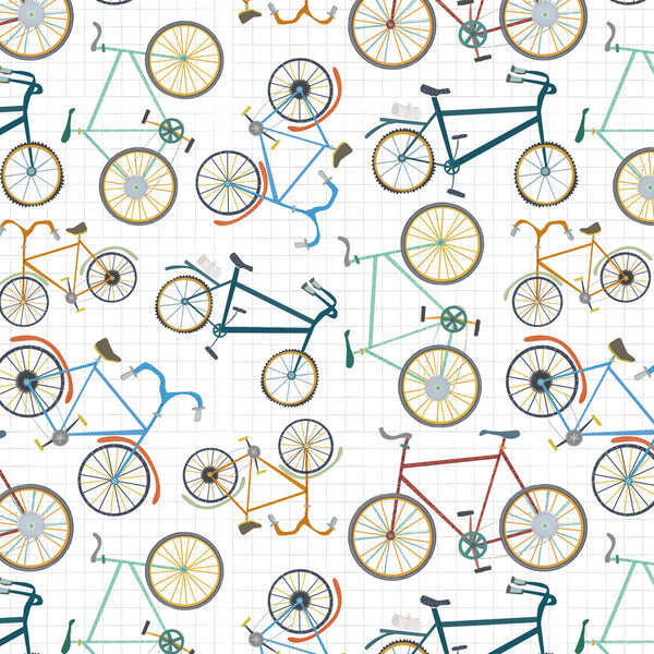 Cycling Fun Wrapping Paper Pack