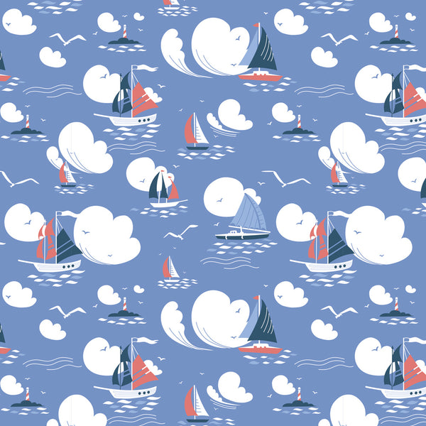 Sail Away Wrapping Paper Pack