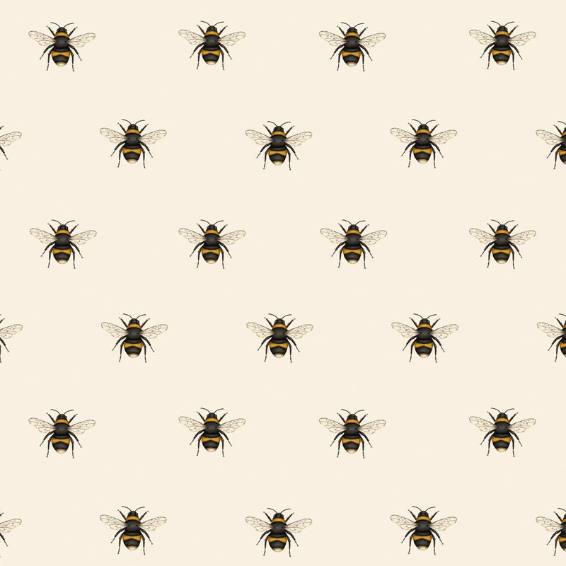 Ditsy Bee Wrapping Paper