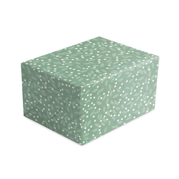 Snowberries Christmas Wrapping Paper