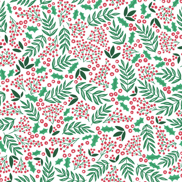 Sprig & Berries Christmas Wrapping Paper