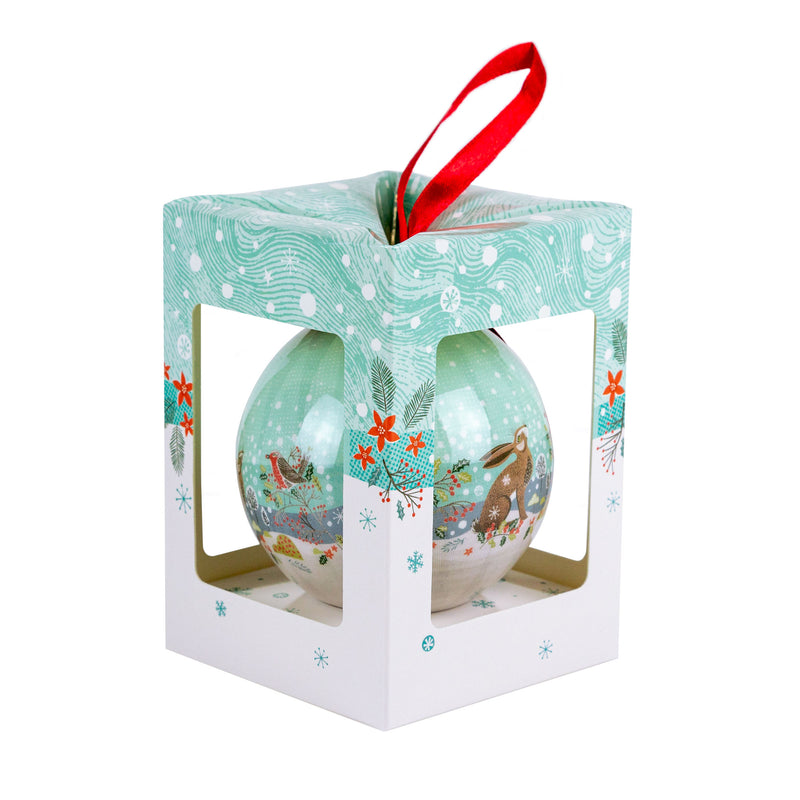 Hare & Robin Christmas Bauble