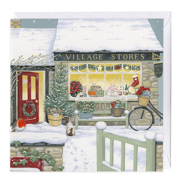 The Village Store Christmas Card