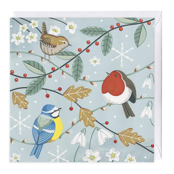 Christmas Birdies Christmas Card