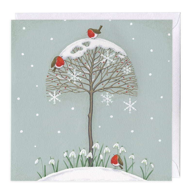 Snow Drops Christmas Card