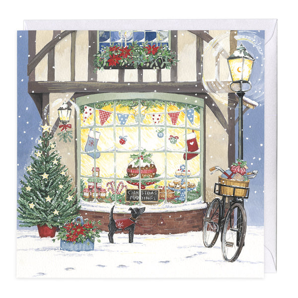 The Pudding Shop Christmas Card