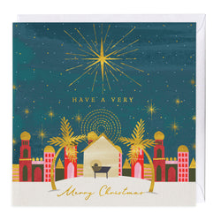 Bright Star Christmas Card