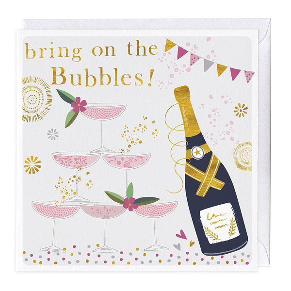 Bring On The Bubbles Celebration Card
