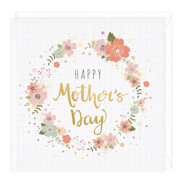 Flowers Happy Mother's Day Card