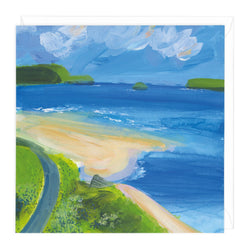 Path From Padstow Art Card