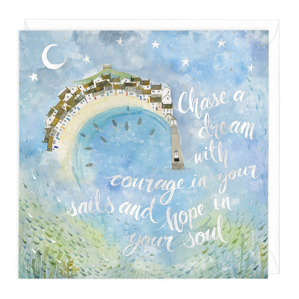 Courage In Your Sails Art Card