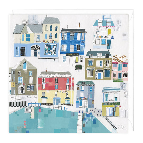 This is Padstow Art Card