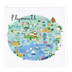 Plymouth Map Card