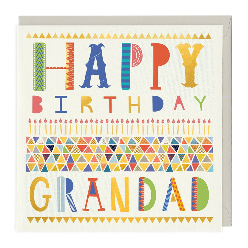 Happy Birthday Grandad Card