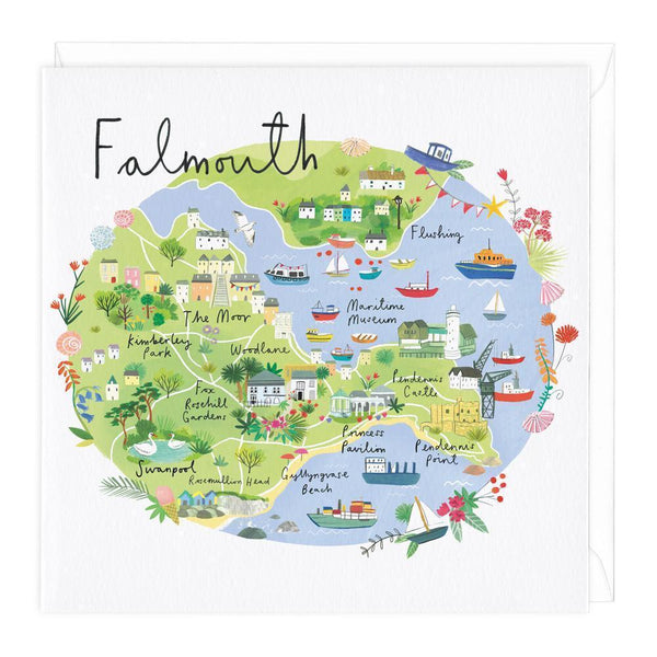 Falmouth Map Card