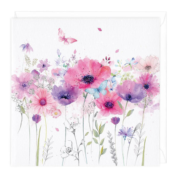 Anemone Floral Card