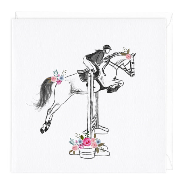 Show Jumping Equine Card