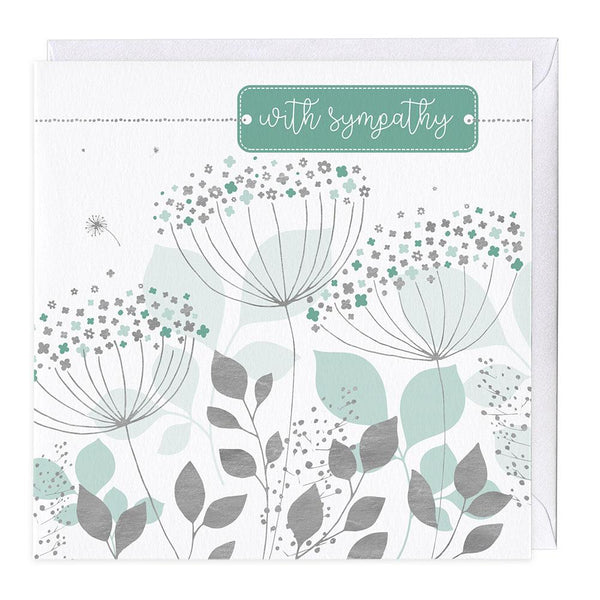 Allium With Sympathy Card