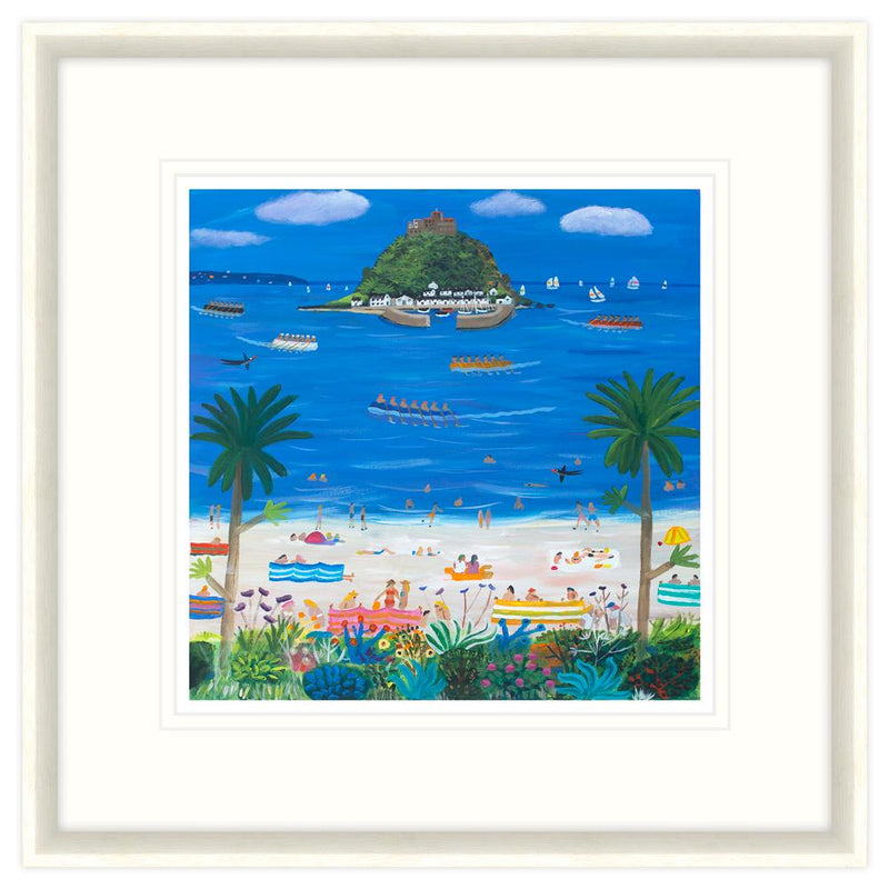 St Michael's Mount Framed Print