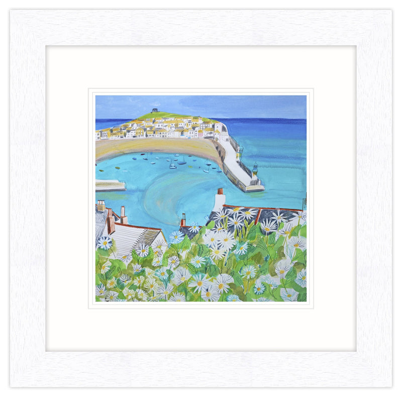Daisies and St Ives Framed