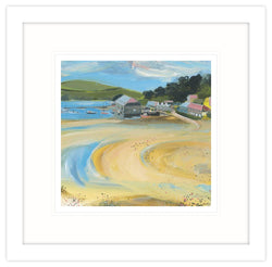 Tide Out, Rock Framed Print