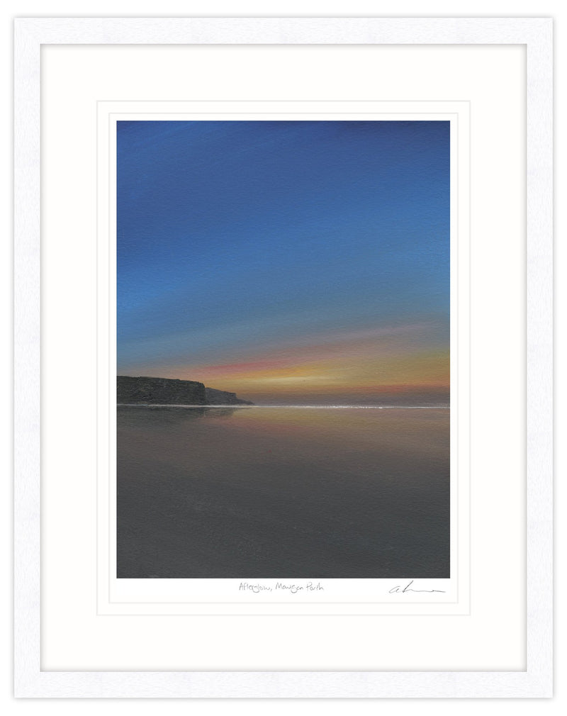 Afterglow, Mawgan Porth Framed