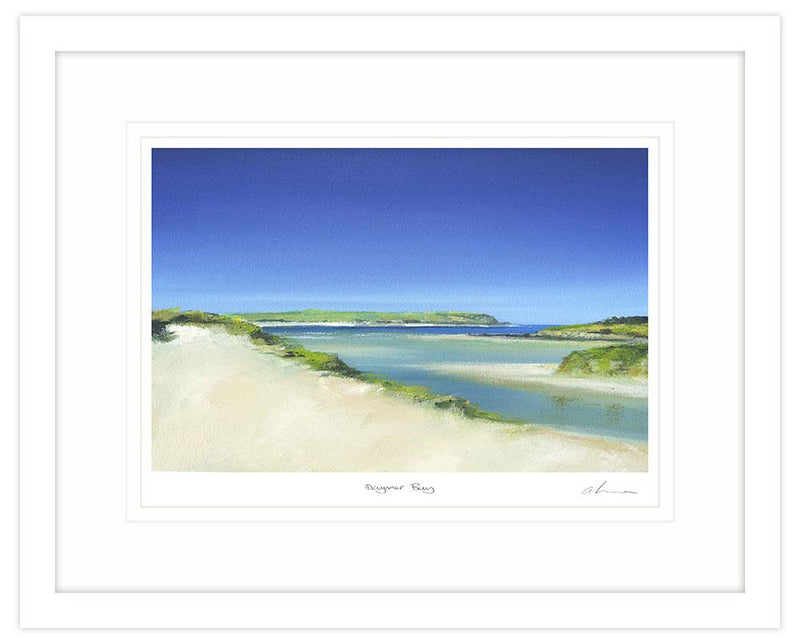 Daymer Bay Framed Art Print