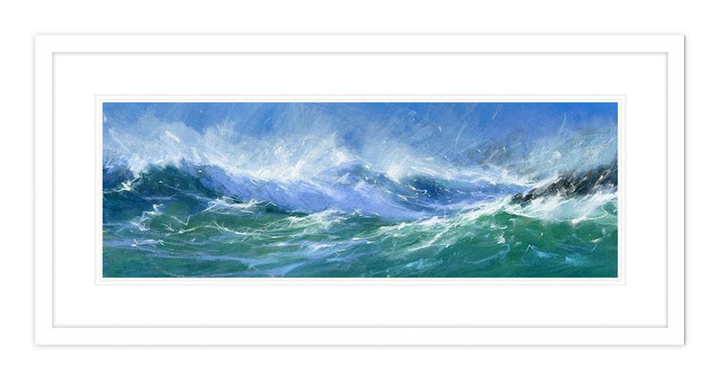 Turbulent Cove Framed