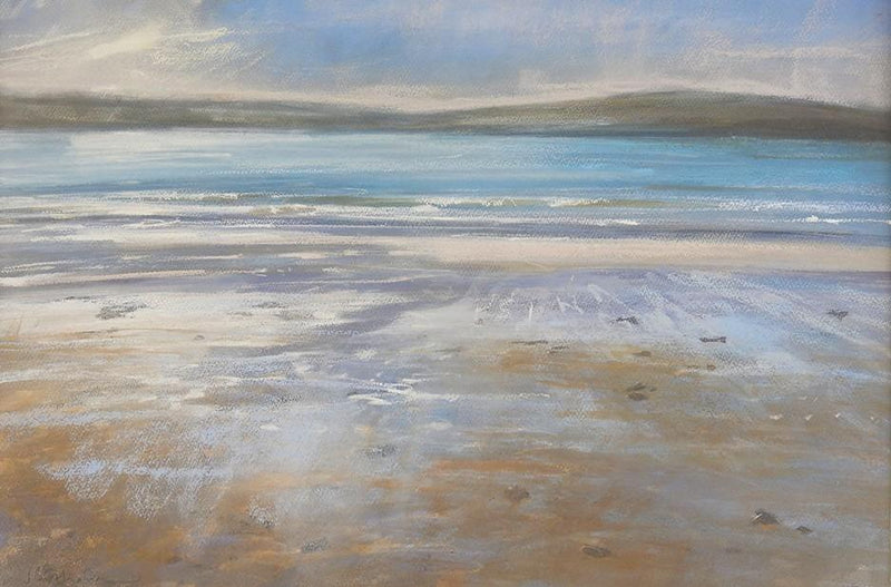 Early Evening, Across Padstow Art Print