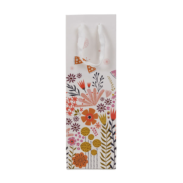 Autumn Butterfly Gift Bottle Bag