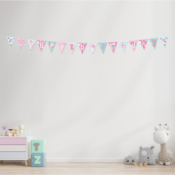 Animal Party Children's Birthday Bunting