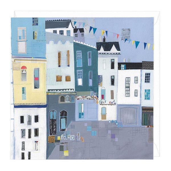 High Street Cafe Falmouth Greeting Card
