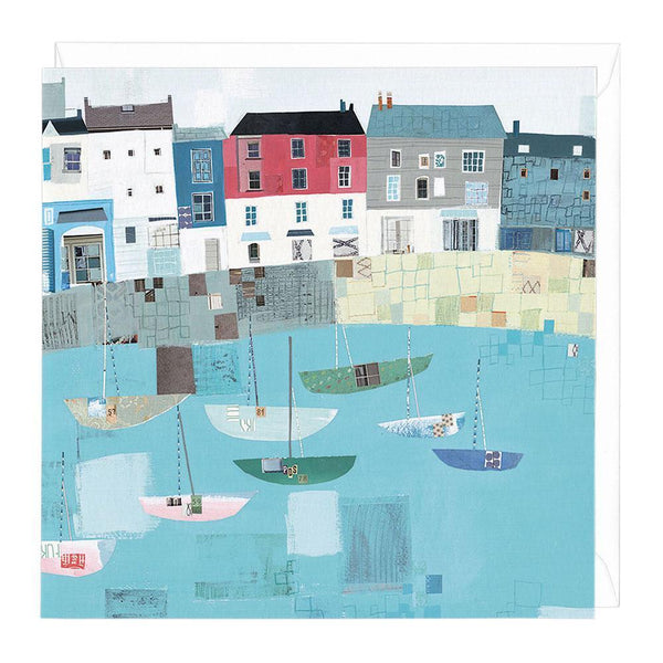 Padstow Harbour Card