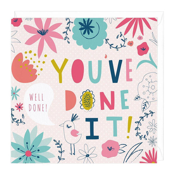 You've Done It! Congratulations Card