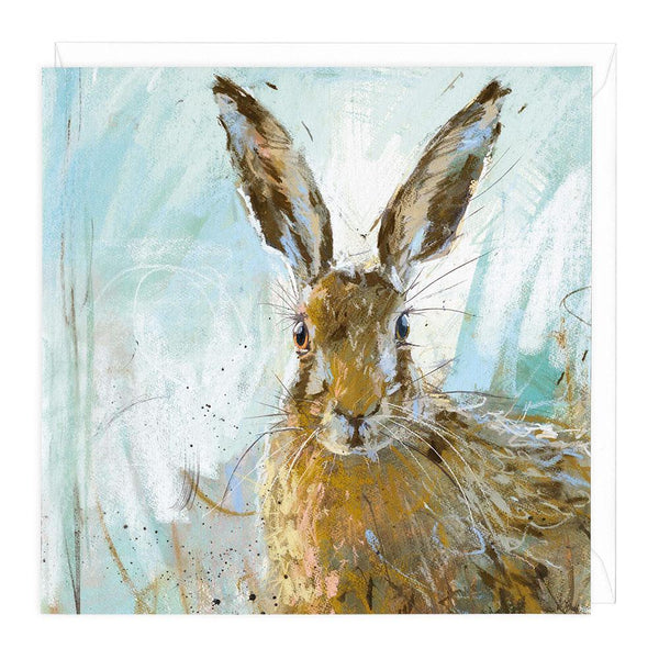 Brown Hare 3 Animal Greeting Card