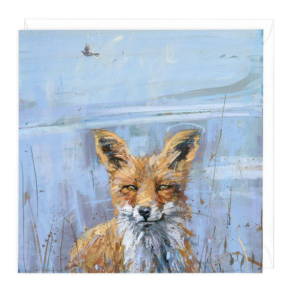 The Skylark & The Fox Art Card