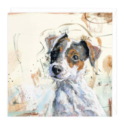 Jack Russell Art Card