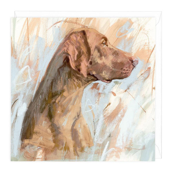 Vizsla Dog Greeting Card