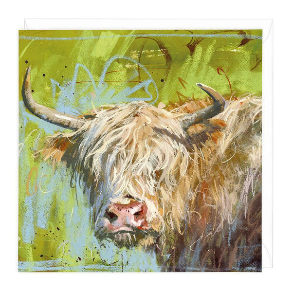 Highland Green Greeting Card
