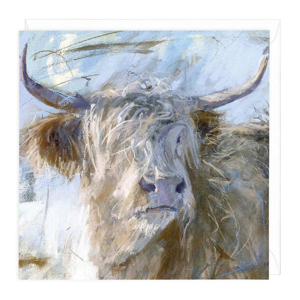 Highland Snow Art Card