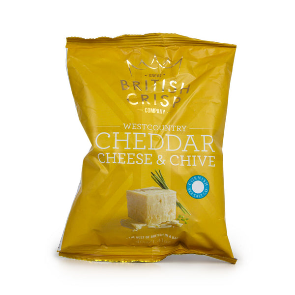 West Country Cheddar & Chive Crisps
