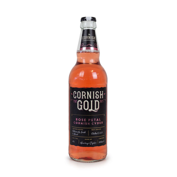 Healey's Cornish Gold Rose Cider