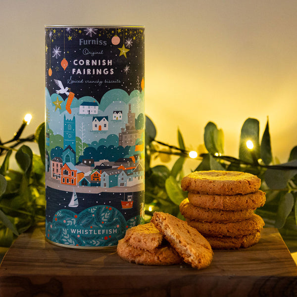 Furniss Cornish Fairings - Cornish Christmas Tin