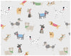 Furry Dog Friends Wrapping Paper
