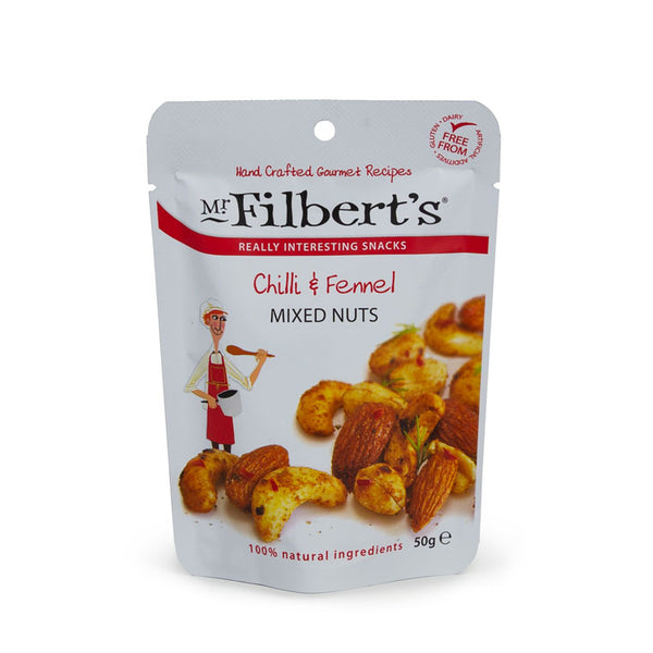 Mr Filbert's Chilli & Fennel Mixed Nuts
